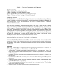 RECL 1P03 Lecture Notes - Lecture 4: Shopping, Meridian Centre, Outlet Store