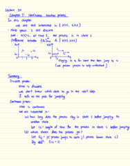 STAT333 Lecture Notes - Lecture 30: Discrete Space, Markov Chain, Poisson Point Process