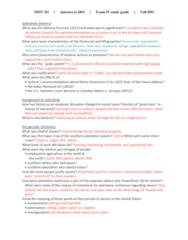 HIST 113 Final: Final Study Guide