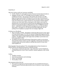 HIST 215 Lecture Notes - Lecture 21: Totalitarianism, Nazi Eugenics, Racialism