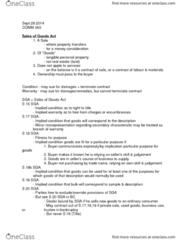 BUSI 393 Study Guide - Midterm Guide: Implied Warranty, Estate (Land)