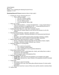 MK 370 Lecture Notes - Lecture 2: Data Analysis