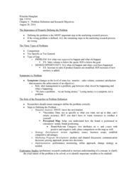 MK 370 Lecture Notes - Lecture 12: Entscheidungsproblem, Swot Analysis