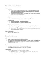 English 2033E Study Guide - Quiz Guide: Israel Hands, Tweedledum And Tweedledee, Knowledge Adventure