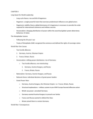 45-160 Lecture Notes - Lecture 4: Hegemonic Stability Theory, Bretton Woods System, Yalta Conference