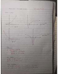 MATH 1200 Midterm: Midterm Study Note