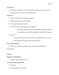 NUTR 244 Lecture Notes - Lecture 3: Saturated Fat, Osteoporosis, Neural Tube Defect
