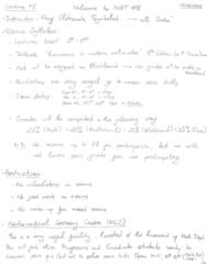 MAT 118 Lecture 1: MAT 118