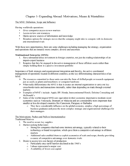 BU491 Chapter Notes - Chapter 1: Intercontinental Hotels Group, Deloitte, Computer Hardware