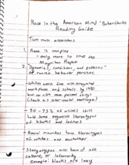 PHIL 356 Lecture 1: Race in the American Mind - Bobo and Charles