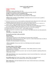 SOCIOL 2R03 Study Guide - Midterm Guide: Sex Segregation, Mark Granovetter, Krahn People