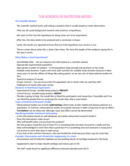 HTHSCI 3BB3 Lecture Notes - Lecture 1: Meta-Analysis, Flavan-3-Ol, Osteoarthritis