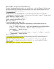 BIOL 205 Lecture Notes - Lecture 15: Superficial Palmar Arch, Deep Palmar Arch, Superior Vena Cava