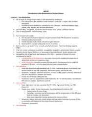 LMP301H1 Study Guide - Final Guide: Metastasis, Glucose Tolerance Test, Goitre