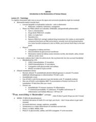 LMP301H1 Lecture Notes - Lecture 19: Aldehyde Dehydrogenase, Codeine, Hydrophile