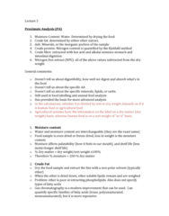 NUTR 3210 Lecture Notes - Lecture 3: Dietary Fiber, Victorian Football League, Distillation