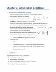 CHEM 2E03 Chapter Notes - Chapter 7: Sulfonate, Locant, Alpha And Beta Carbon