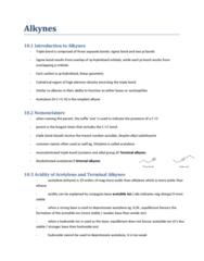 CHEM 2E03 Chapter Notes - Chapter 10: Reaction Rate, Markovnikov'S Rule, Elimination Reaction