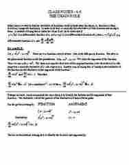 MATH 132 Lecture Notes - Lecture 7: Differentiable Function