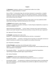 PHIL-UA 1 Lecture Notes - Lecture 1: Monism, Qualia