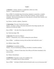 PHIL-UA 1 Lecture Notes - Lecture 3: Coherentism, Externalism, Qualia