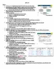 ACG-2021 Study Guide - Midterm Guide: Deferral, Trial Balance, Accrual