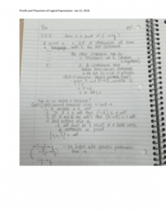 MATH 3721 Lecture 5: Theorems and Proofs of logical expressions