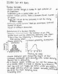 ECO220Y1 Study Guide - Quiz Guide: Linear Combination, Random Variable, Emo