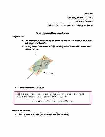 Math 1071 Textbook Notes Fall 2012 Chapter 1 Unit Venn Diagram