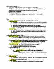 MKTG 332 Lecture Notes - Lecture 1: Implicit Memory, Explicit Memory, Marketing Myopia
