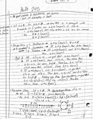 MATH245 Lecture 7: Math245 w5-1,2,3