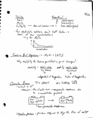 CHM-1046 Lecture Notes - Lecture 5: Semipermeable Membrane, Osmosis