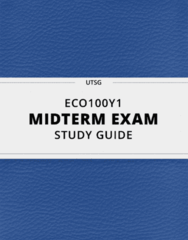 [ECO100Y1] - Midterm Exam Guide - Ultimate 14 pages long Study Guide!