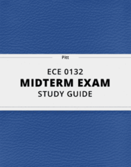 [ECE 0132] - Midterm Exam Guide - Ultimate 12 pages long Study Guide!