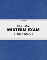 [EXCI 252] - Midterm Exam Guide - Everything you need to know! (19 pages long)