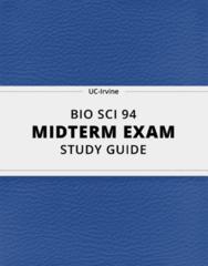 BIO SCI 94 Study Guide - Comprehensive Midterm Guide: Rain Shadow, Ecotourism, Neritic Zone