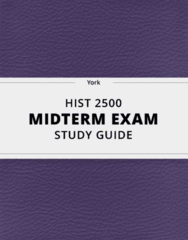 HIST 2500 Study Guide - Comprehensive Midterm Guide: Matriarchy, Columbian Exchange, Canadian Identity