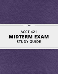 ACCT 421 Study Guide - Comprehensive Midterm Guide: Adjusted Gross Income, Income Tax In The United States, Child Tax Credit