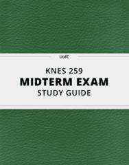 KNES 259 Study Guide - Comprehensive Midterm Guide: Posterior Longitudinal Ligament, Anterior Longitudinal Ligament, Hinge Joint