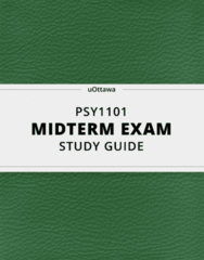 PSY 1101 Study Guide - Comprehensive Midterm Guide: Functional Magnetic Resonance Imaging, Central Nervous System, Peripheral Nervous System