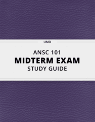 [ANSC 101] - Midterm Exam Guide - Ultimate 22 pages long Study Guide!