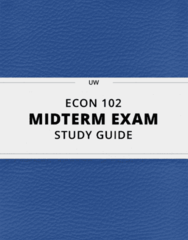ECON102 Study Guide - Comprehensive Midterm Guide: Potential Output, Final Good, Capital Accumulation