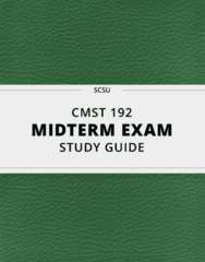 CMST 192 Study Guide - Comprehensive Midterm Guide: Inattentional Blindness, Communication, Interpersonal Communication