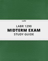 LABR 1290 Study Guide - Comprehensive Midterm Guide: Craft Unionism, Labor Rights, Iris Marion Young