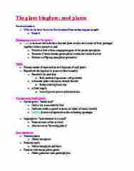 BIOL 101 Lecture Notes - Lecture 12: Sporangium, Sporophyte, Gametophyte
