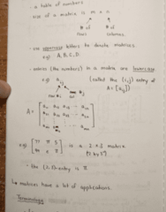 MATH 211 Lecture 4: Matrices and Matrix Operations