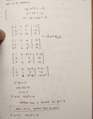 MATH 211 Lecture 6: Practice Examples, Systems, Mega Theorem, and Rank
