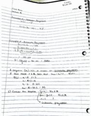 MATH245 Lecture 15: Math 245 (10-7)