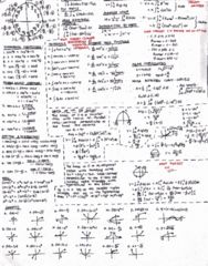 MATH 20B Study Guide - Midterm Guide: Arc Length, Hypotenuse, Dont