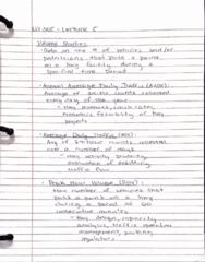 CIV 305 Lecture 5: CIV 305 Lecture 5